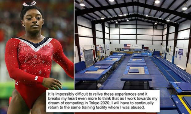 USA gymnastics to drop the Karolyi ranch for training camps after Simone Biles said going back to it would traumatize her